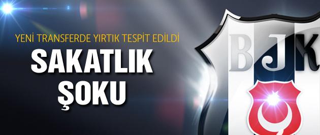 Beşiktaş'a son dakika sakatlık şoku