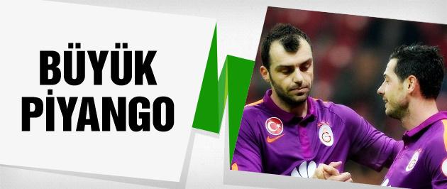 Galatasaray'a büyük piyango vurdu
