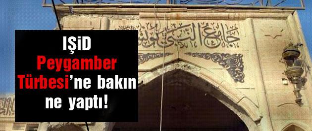 IŞİD Peygamber türbesini garaja çevirdi!