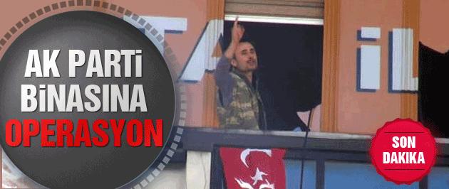 AK Parti binasına silahlı saldırı Kartal karıştı!