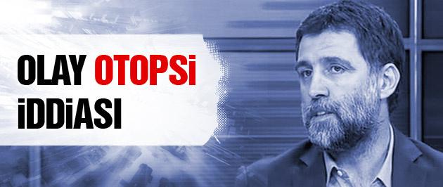 Hakan Şükür'den olay otopsi iddiası