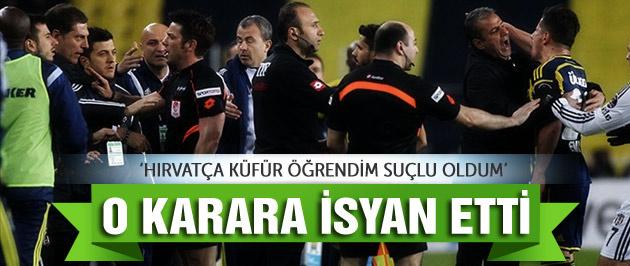 Emre Belözoğlu o karara isyan etti