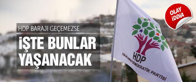 'HDP barajı geçemezse iç savaş çıkacak'