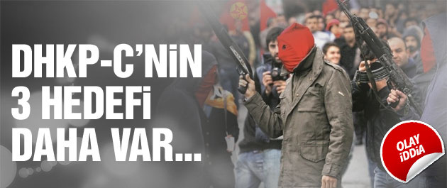 'DHKP-C 3 eylem daha yapacak' Olay iddia!