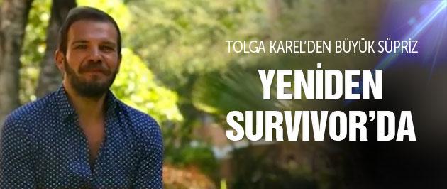 Tolga Karel yeniden Survivor'da büyük süpriz