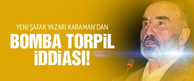 Hayrettin Karaman'dan bomba adaylık iddiası!