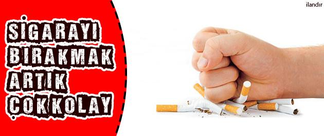 Sigarayı bırakmak artık çok kolay?