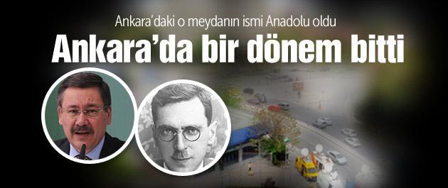 Tandoğan meydanının adı değiştirildi