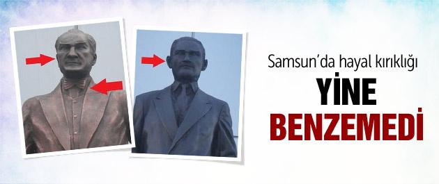 Samsun'da Atatürk heykeli tartışması