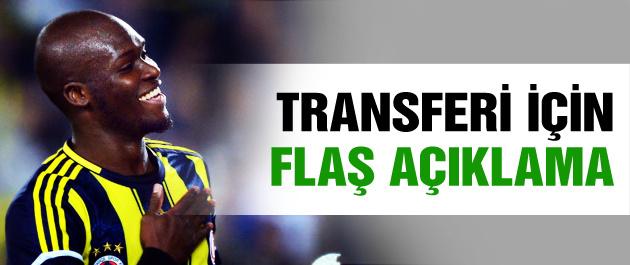 Moussa Sow için transfer açıklaması