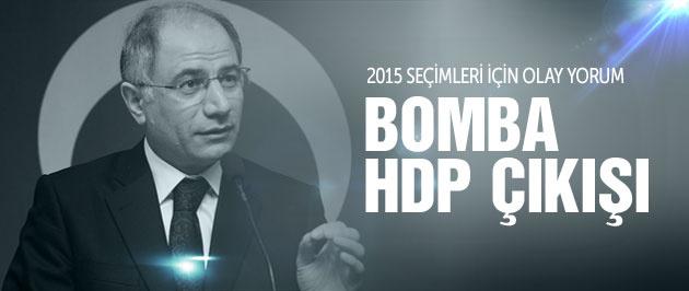 2015 genel seçimleri için Efkan Ala'dan flaş HDP yorumu