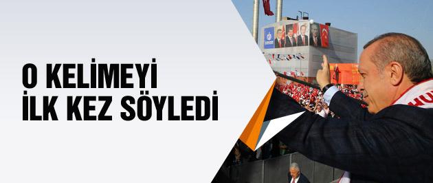 Cumhurbaşkanı Erdoğan ilk kez 'kriz' dedi