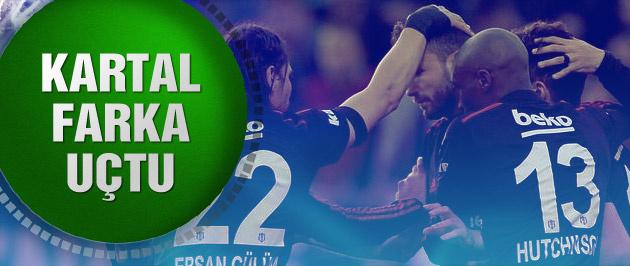 Kasımpaşa 1-5 Beşiktaş (Maç sonucu ve özeti)