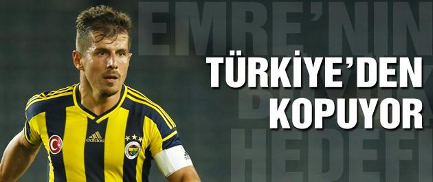 Emre Belözoğlu Türkiye'den kopuyor