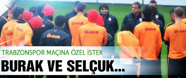 Trabzonspor maçına özel istek