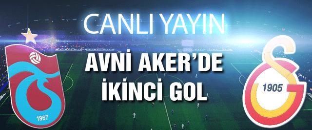 Trabzonspor-Galatasaray maçı (CANLI YAYIN)