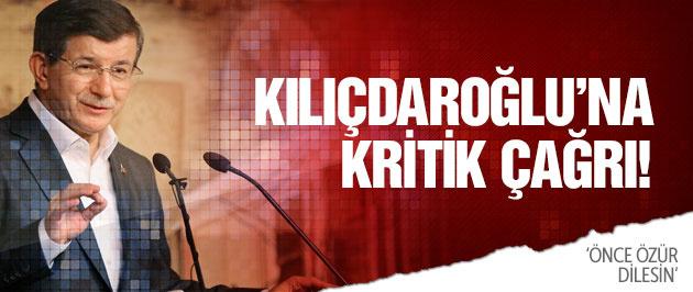 Davutoğlu'ndan Kılıçdaroğlu'na kritik çağrı!
