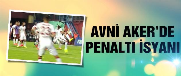 Trabzon'daki maçta penaltı isyanı!