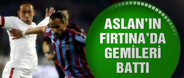Trabzonspor Galatasaray'ı 2-1'lik skorla yendi