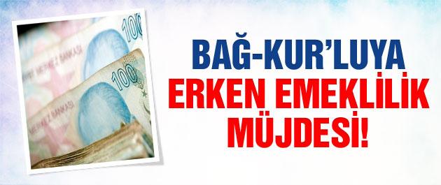 Bağ-Kur'lu binlerce kişiye erken emeklilik müjdesi!