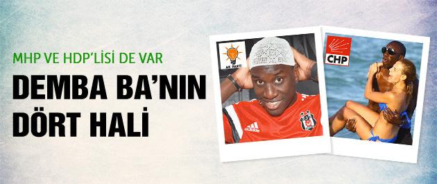 Beşiktaşlı Demba Ba'nın dört hali