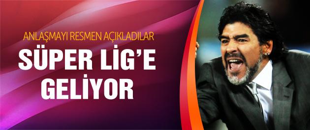 Eskişehirspor'dan Maradona ve Forlan bombası!
