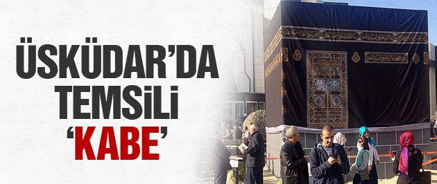 Üsküdar'da 'Kabe maketi' kuruldu işte 'Asr-ı Saadet Köyü'