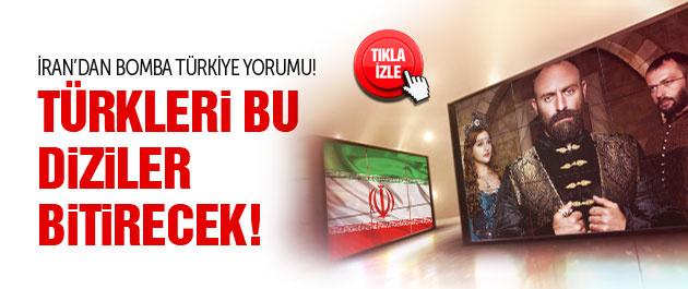 İran'dan Türk dizileri için bomba yorum!