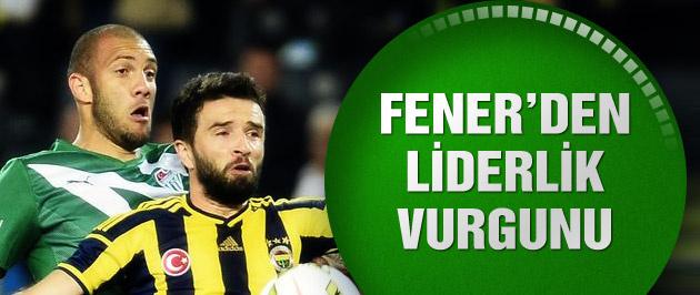Fenerbahçe haftayı zirvede kapattı