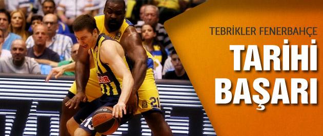 Fenerbahçe'den tarihi başarı