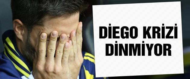 Fenerbahçe'de Diego krizi dinmiyor