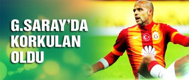 Galatasaray'da korkulan oldu! Melo...
