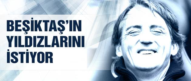 Mancini Beşiktaş'ın yıldızlarını istiyor