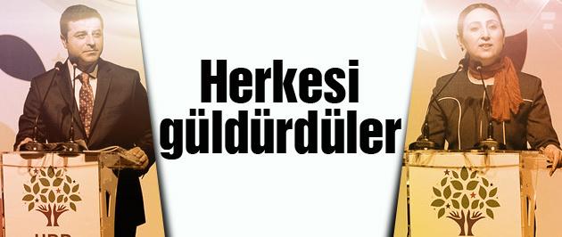 HDP seçim beyannamesi salonu güldüren anlar