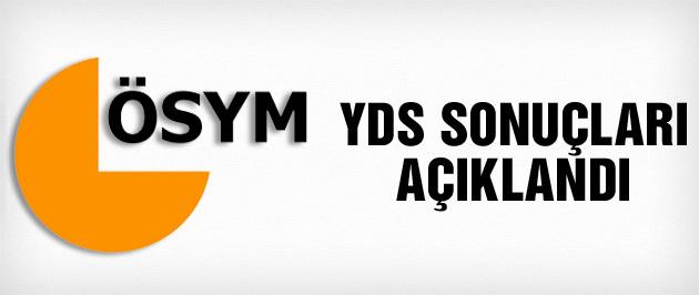 ÖSYM sonuç açıklama sistemi YDS sonuçları