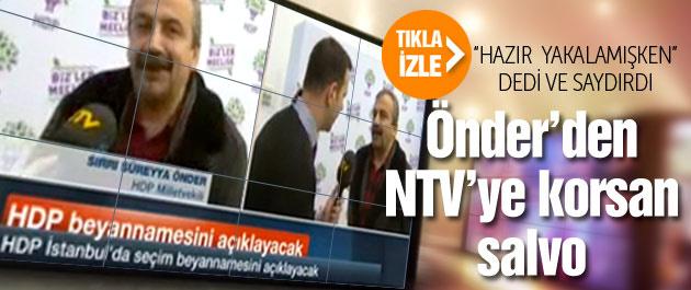 Sırrı Süreyya'dan NTV'de korsan eylem!