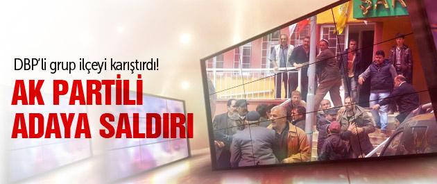 AK Partili adaya taşlı sopalı saldırı!