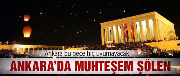 Anıtkabir'de 24 Nisan nöbeti başladı!