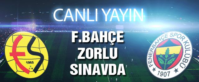 Eskişehirspor-Fenerbahçe maçı (CANLI YAYIN)