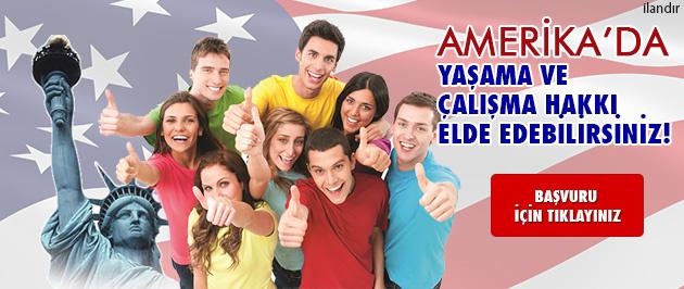 Amerika'da çalışma ve yaşama hakkı kazanabilirsiniz!