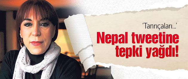 Leman Sam'dan skandal Nepal tweeti! Tanrıçaları...