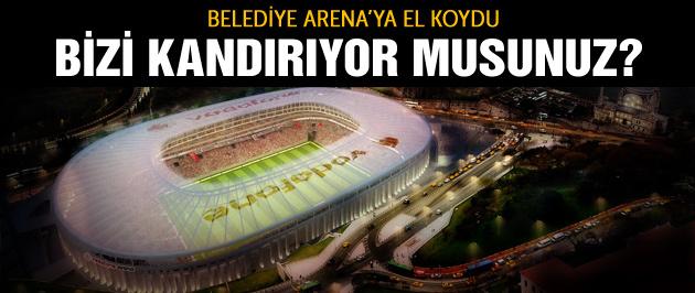 Belediye Arena'ya el koydu!