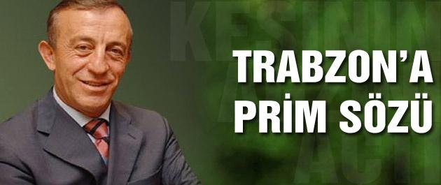 Ali Ağaoğlu'ndan Trabzonspor'a prim sözü