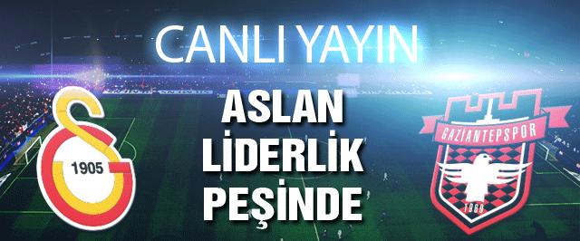 Galatasaray Gaziantepspor maçı (Canlı yayını)