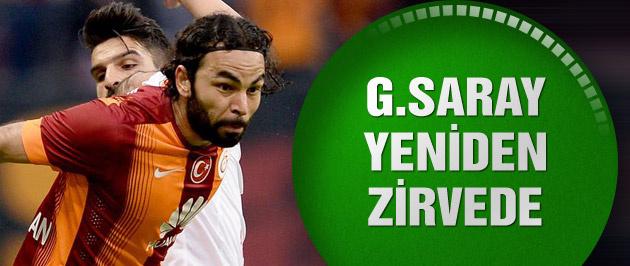 Galatasaray: 1 - Gaziantepspor: 0 (Maç sonucu ve özeti)