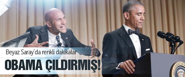 Obama yine kahkahalara boğdu!