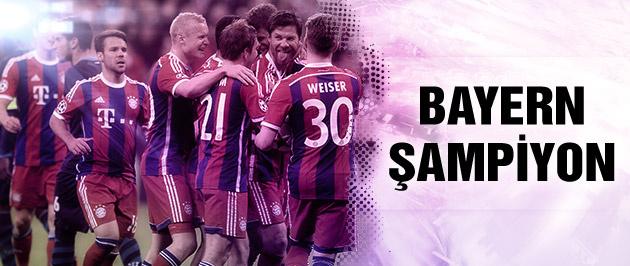 Bayern Münih bir kez daha şampiyon