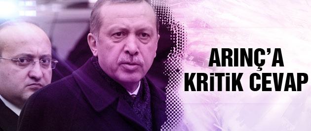 Yalçın Akdoğan'dan Arınç'a 'Erdoğan' cevabı