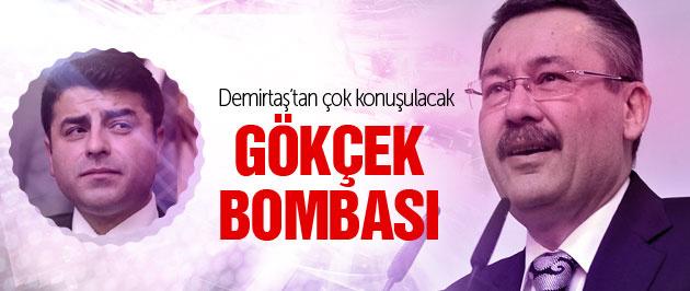 Demirtaş'tan 'Melih Gökçek'te şantaj kasedi var' iddiası