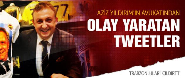 Aziz Yıldırım'ın avukatından olay tweetler!